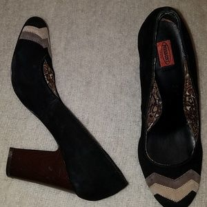 Missoni for Target sz 8 block platform high heels